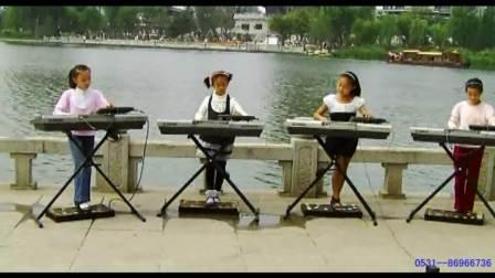 四季调-双排三排键 电子琴脚电子鼓齐奏