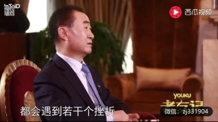 TCL总裁采访王健林