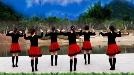 32步广场舞《拥抱你离去》正反面附口令分解教学