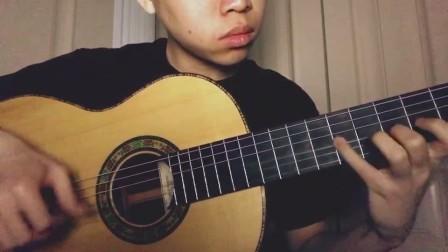 小蒋吉他 白松印度玫瑰木弗拉门戈古典两用琴