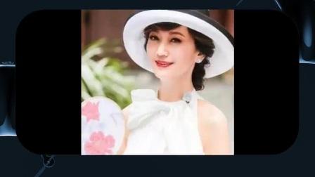 63岁冻龄女神赵雅芝长得像40岁少妇 和老公仔仔拍广告 不输阵