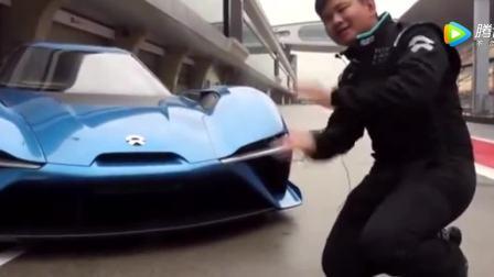 刘强东和奶茶妹妹的座驾蔚来汽车ep9外观讲解, 颜值秒杀法拉利