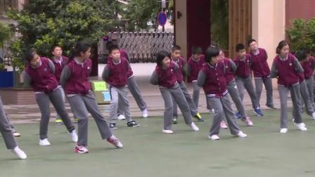 小学体育人教版五六年级《4.多种形式投掷垒球(沙包)与游戏》江苏王蔚