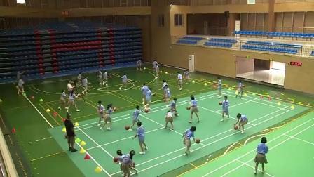 小学体育人教版五六年级《5.运球技术与教学比赛》湖南胡学武