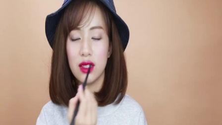 韩国彩妆女神pony化妆视频:跟着PONY去旅行之东京篇!可爱的日系妆容Get樱花绽放简单日常办公妆