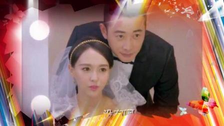 唐嫣与五位男艺人的婚纱照,第一位好尴尬,与最后一位一脸幸福