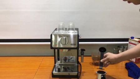 德龙ECP35.31 泵压式咖啡机意式浓缩操作