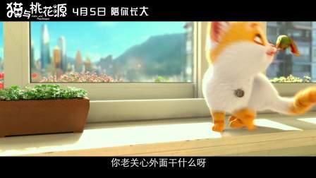 """《猫与桃花源》首映礼""""成长与陪伴""""特辑"""