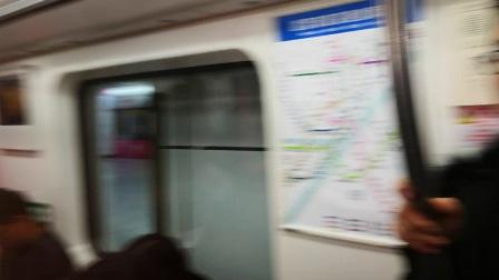 2018.2 武汉地铁2号线 中山公园-循礼门