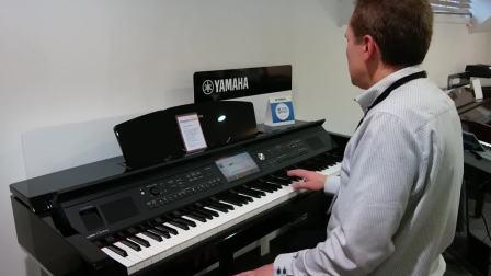 Mark Harrison演示Yamaha Clavinova顶级 CVP709 数码钢琴【中国电子琴信息网站】