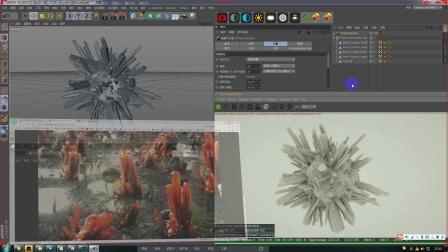 c4d材质渲染--黑白概念的意义与使用方法上集