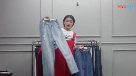 4月11日杭州尚休闲潮流韩版女装批发(牛仔裤系列)仅一份 35件  1100元【注:不包邮】_高清