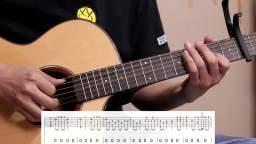 梁静茹-《暖暖》民谣木吉他弹唱弹唱教学 西安简单吉他