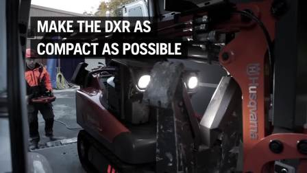 2.1 DXR user guide - Transport DXR 140 富世华遥控破拆机器人DXR 140运输