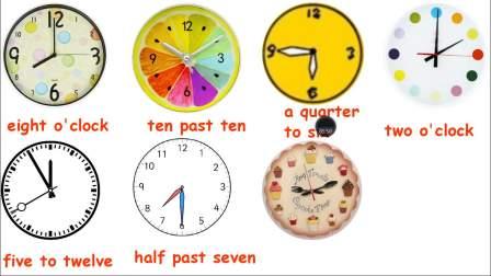 初一英语:What time do you go to school
