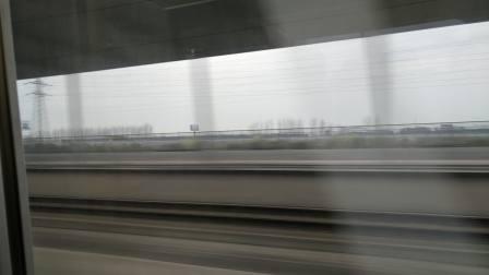 宁杭 D3295次 南京南-龙岩 CHR2A  高速通过溧水站