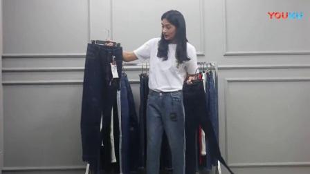 【已出】4月13日杭州时尚休闲潮流韩版新款女装批发(牛仔裤系列)仅一份 35件  1100元【注:不包邮】_高清