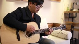 押尾光太郎BIG BLUE OCEAN—BSG D27F捷克手工吉他