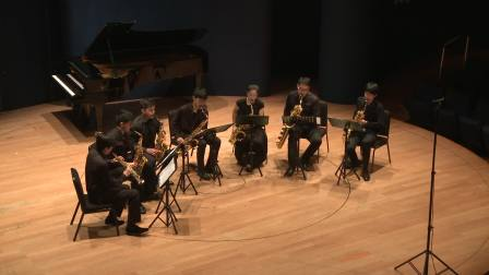 德彪西《小组曲》1. En Bateau小舟 萨克斯七重奏