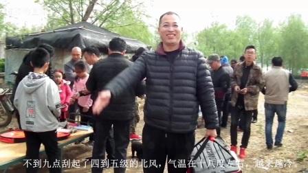 临朐钓鱼帮:2018年4月14日龙山垂钓园钓鱼视频