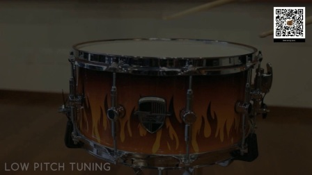 Odery Custom - Shop Snare Flames 14 x 6.5 (English Version)