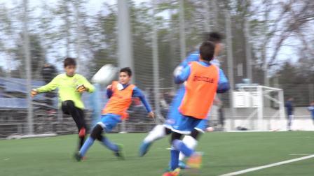 皇家西班牙人HLK国际足球学院和皇家西班牙俱乐部学校小球员友谊赛