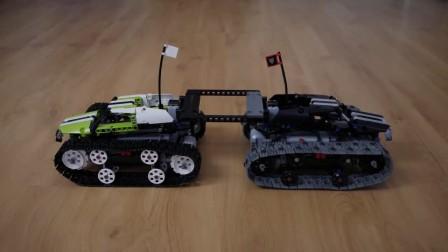 雪地行走 LEGO 乐高科技系列 42065遥控履带赛车