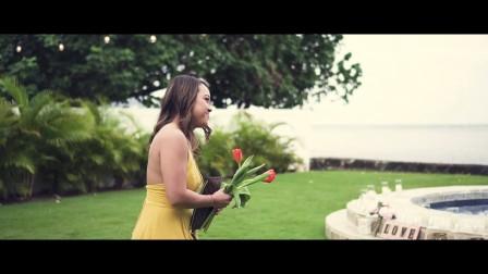 夏威夷天使别墅求婚【夏威夷假日婚礼公司出品】