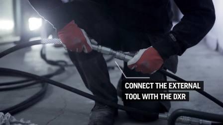 5.2 DXR user guide - Run external tools 富世华遥控破拆机器人-运行外部工具