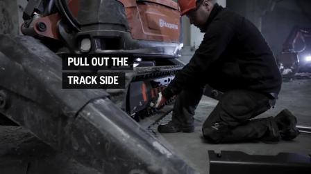 5.10 DXR user guide - Track wideners 富世华遥控破拆机器人使用指南 - 履带展宽器