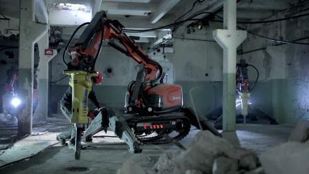 5.11 DXR user guide - Automatic track tensioning 富世华遥控破拆机器人使用指南 - 履带自动张紧