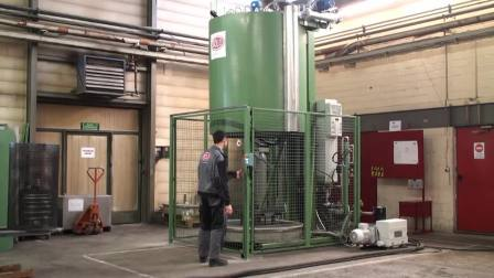 瑞士索罗恒温控制底装料立式多用炉 SOLO Swiss Bell Type Furnace For Tempering