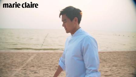 【彭于晏】marie claire tw 4月刊封面故事 想和彭于晏相约沙滩漫步