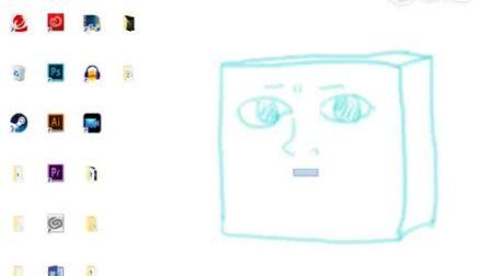 一推主自己画了个壁纸,然后玩得很开心……