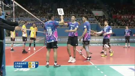 排超G4:上海男排VS男排 第一局