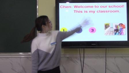 23、四年级下册U1课文PartB1-7句