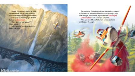 Disney Planes Fire  Rescue - Dusty to the Rescue Storybook eBook HD Movie