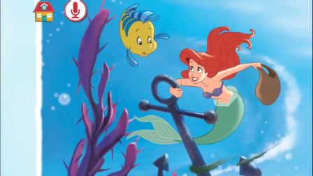 The Little Mermaid Storytime - Ariels Quest for the Purple Pearl Full HD