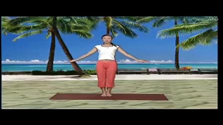 瑜伽初级教程在家练全套10天瘦7斤的减肥操