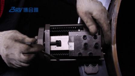 SFM外钳式管道切割坡口机-液压-弹簧刀架-英