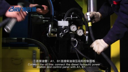 SFM外钳式管道切割坡口机-液压-钻铣刀架-中英