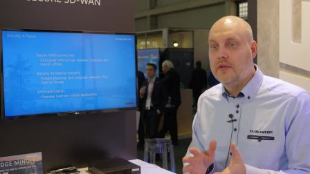 SECURE SD-WAN BY CLAVISTER AND ENEA