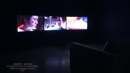 《说谎的梦,说梦的谎》展示现场-马海蛟-2018