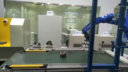 安川机器人展示