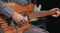 Music Man BFR Koa Top Axis 试听测评