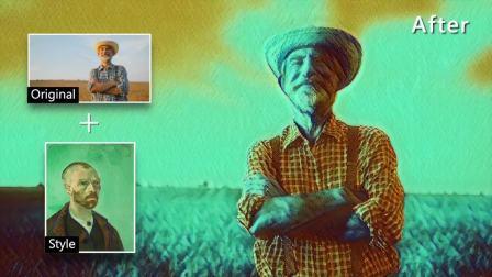 梵高 AI 艺术风格包 - Paul Gauguin Self Portrait