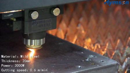 3000W 20mm MS LASER CUT!Hymson Laser