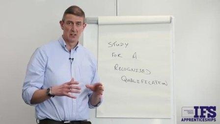 NCI的讲师Jonathan Brittain概述了IFS学徒的好处