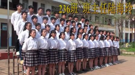 南宁市隆安县南圩镇初级中学学生上台宣誓学校学生誓词