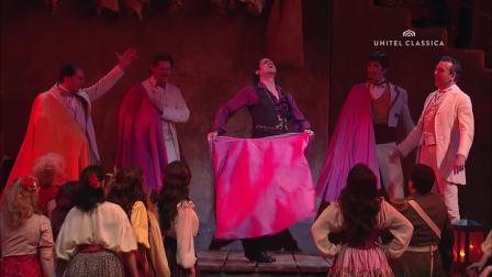 比才歌剧《卡门》2010年维也纳国家歌剧院 主演:安娜.奈瑞贝科 焦尔达尼